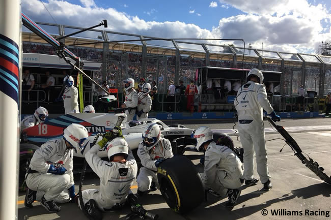 Lance Stroll - Williams - Carrera - Gran Premio de Australia 2018