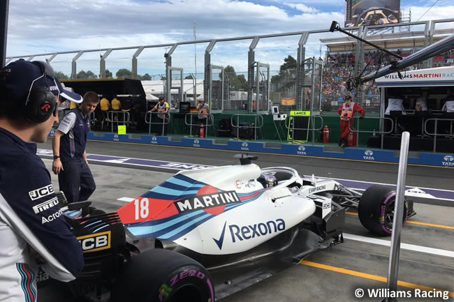 Lance Stroll - Williams - Gran Premio de Australia 2018