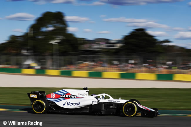 Lance Stroll - Williams - Viernes - GP Australia 2018