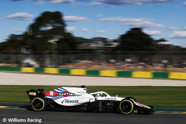 Lance Stroll - Williams - Viernes - GP Australia 2018
