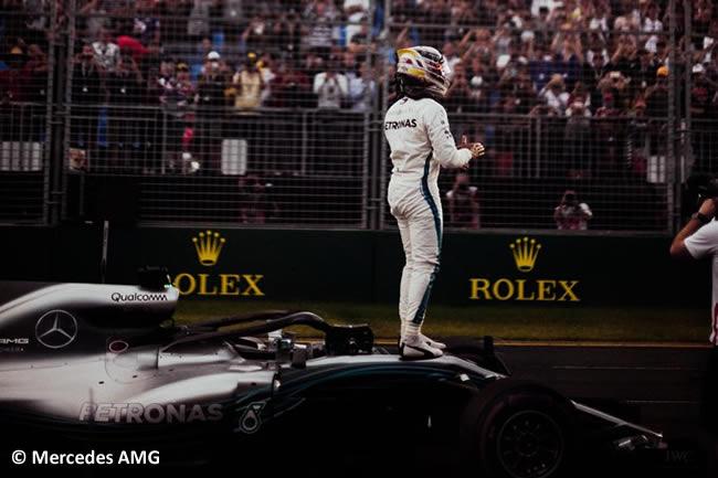 Lewis Hamilton - Mercedes AMG - Gran Premio de Australia 2018