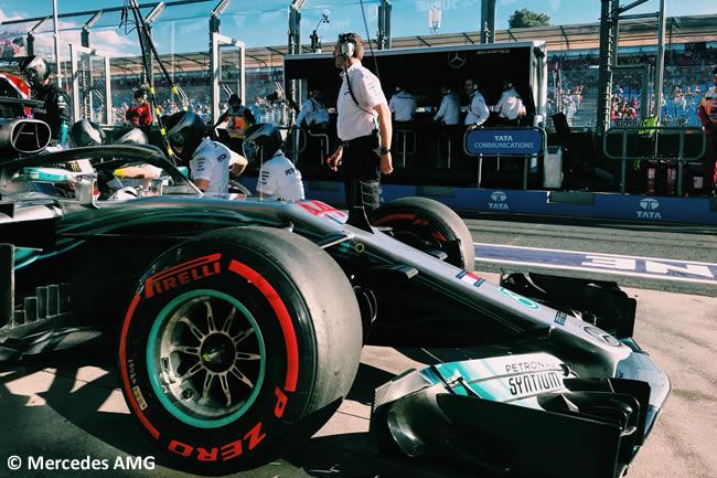Lewis Hamilton - Mercedes AMG - Viernes - GP Australia 2018