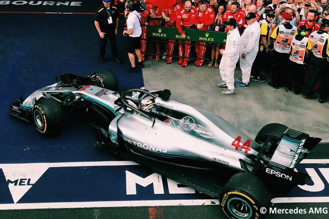 Lewis Hamilton - Mercedes - Carrera - Gran Premio de Australia 2018