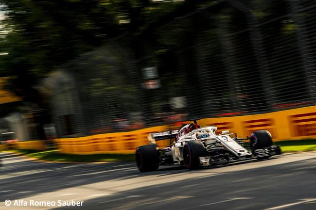Marcus Ericsson - Sauber - Gran Premio de Australia 2018