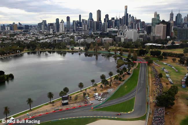 Red Bull Racing - Gran Premio de Australia 2018