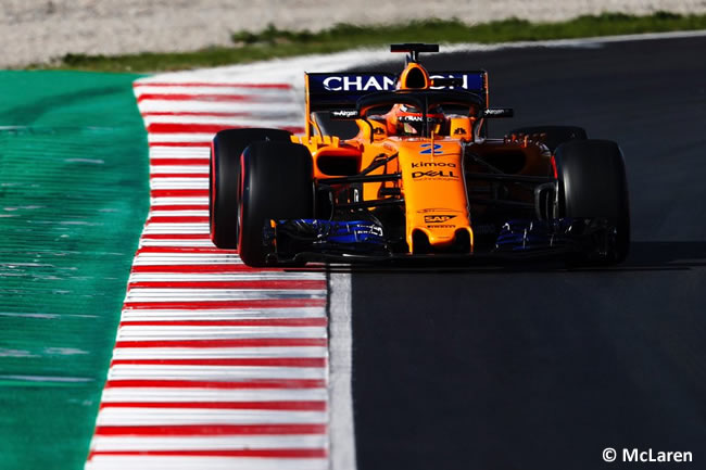 Test Barcelona 2 - Día 1 - McLaren - Stoffel Vandoorne