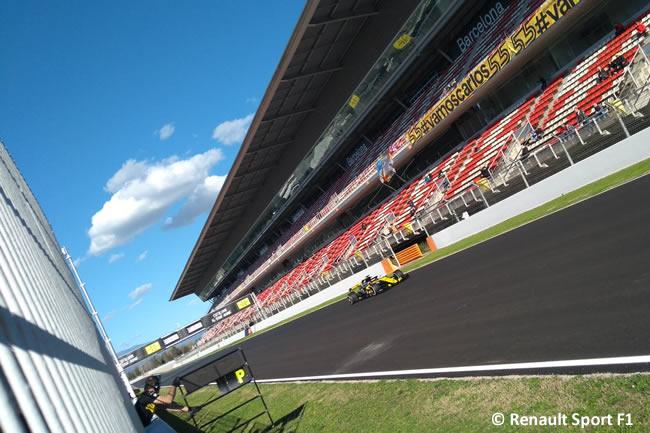 Test Barcelona 2 - Día 1 - Renault Sport - Carlos Sainz