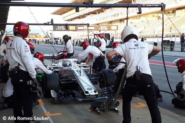 Test Barcelona 2 - Día 1 - Sauber - Marcus Ericsson