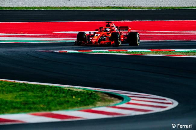 Test Barcelona 2 - Día 1 - Scuderia Ferrari - Sebastian Vettel