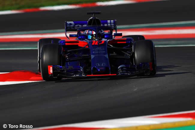 Test Barcelona 2 - Día 1 - Scuderia Toro Rosso - Pierre Gasly