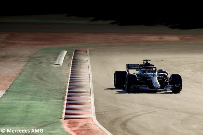 Test Barcelona 2 - Día 1 - Mercedes - Valtteri Bottas
