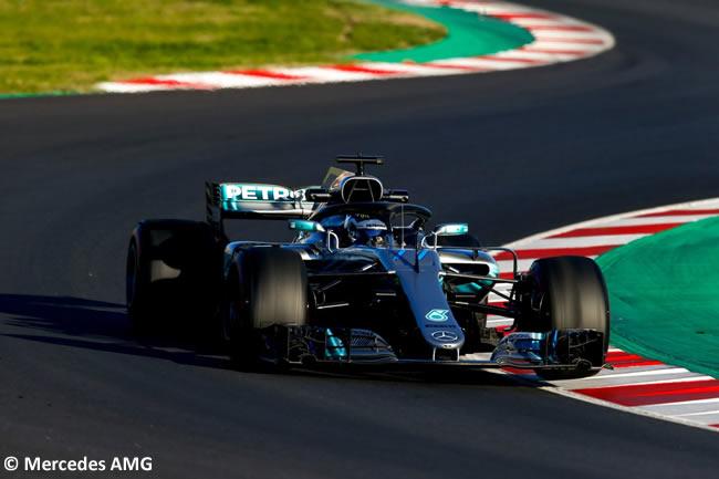 Test Barcelona 2 - Día 2 - Mercedes - Valtteri Bottas