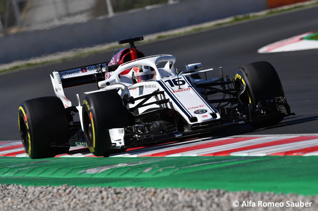 Test Barcelona 2 - Día 2 - Alfa Romeo Sauber - Charles Leclerc