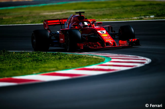 Test Barcelona 2 - Día 2 - Scuderia Ferrari - Sebastian Vettel