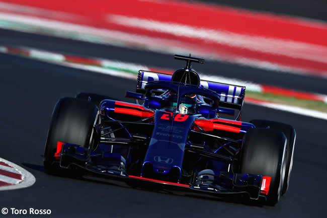 Test Barcelona 2 - Día 2 - Toro Rosso - Brendon Hartley