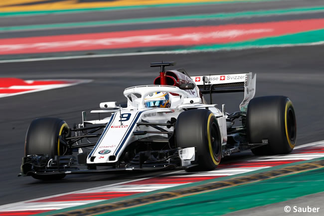 Test Barcelona 2 - Día 2 - Alfa Romeo Sauber - Marcus Ericsson