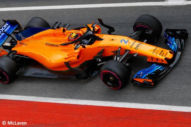 Test Barcelona 2 - Día 2 - McLaren - Stoffel Vandoorne