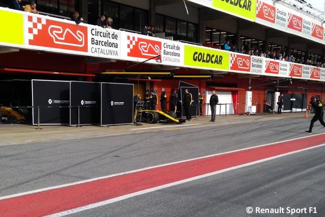 Test Barcelona 2 - Día 2 - Renault Sport - Nico Hulkenberg