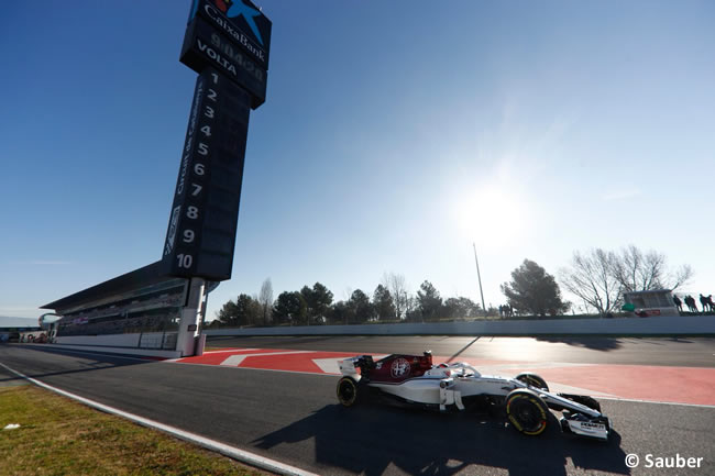 Test Barcelona 2 - Día 2 - Alfa Romeo - Suaber - Charles Leclerc