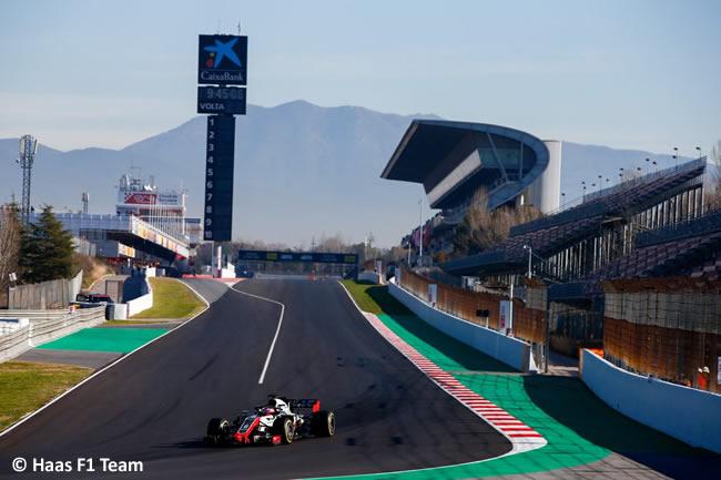 Test Barcelona 2 - Día 2 - Haas - Romain Grosjean