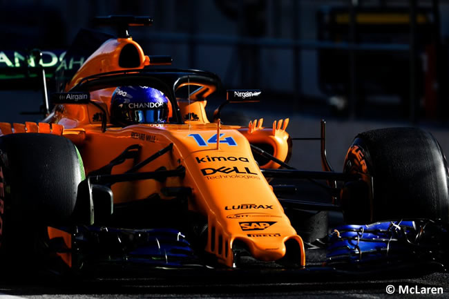 Test Barcelona 2 - Día 2 - McLaren - Fernando Alonso
