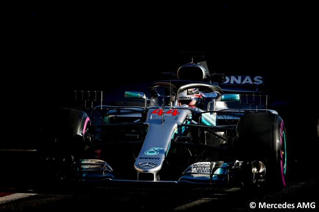 Test Barcelona 2 - Día 2 - Mercedes AMG - Lewis Hamilton
