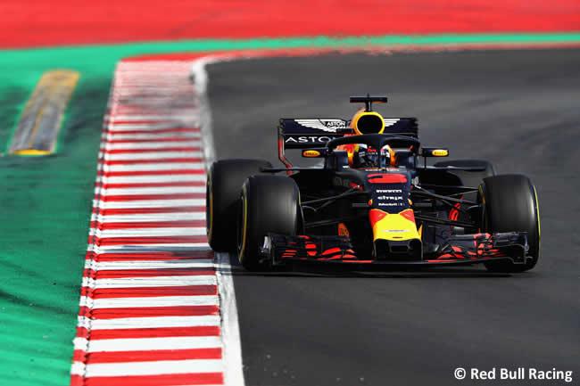 Test Barcelona 2 - Día 2 - Red Bull Racing - Daniel Ricciardo