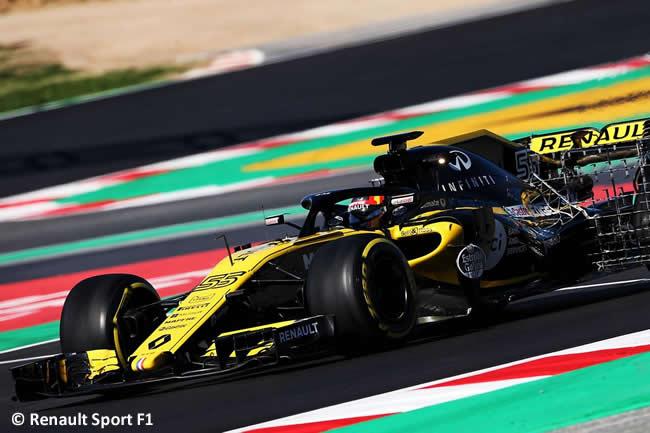 Test Barcelona 2 - Día 2 - Renault Sport - Carlos Sainz