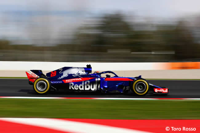 Test Barcelona 2 - Día 2 - Toro Rosso - Brendon Hartley