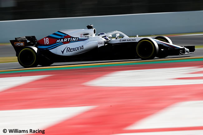 Test Barcelona 2 - Día 2 - Williams - Lance Stroll