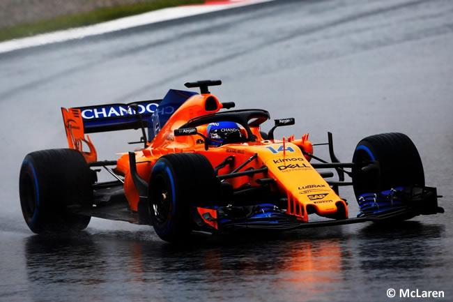Test Barcelona 1 - Día 3 - McLaren - Fernando Alonso