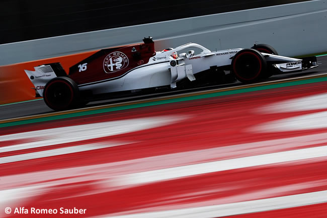Test Barcelona 1 - Día 4 - Alfa Romeo Sauber - Charles Leclerc