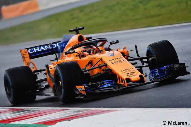 Test Barcelona 1 - Día 4 - McLaren - Stoffel Vandoorne
