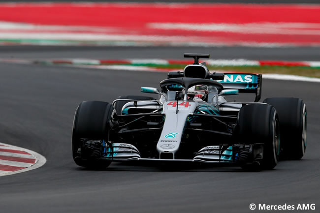 Test Barcelona 1 - Día 4 - Mercedes - Lewis Hamilton