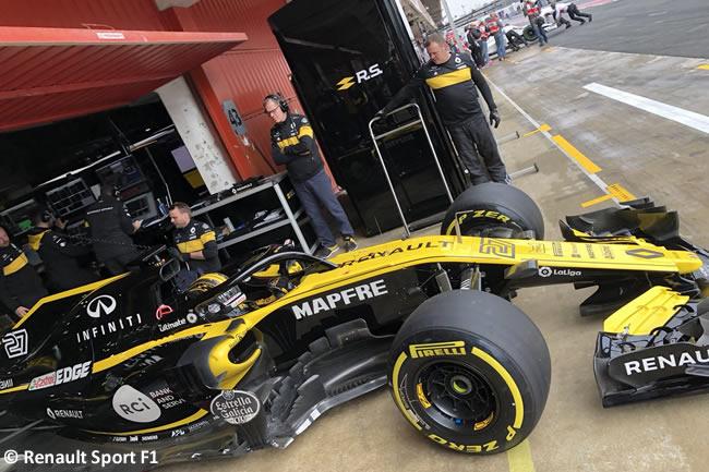 Test Barcelona 1 - Día 4 - Renault Sport - Nico Hulkenberg