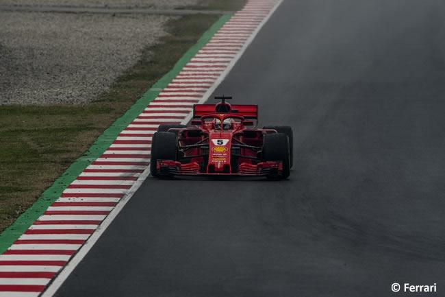 Test Barcelona 1 - Día 4 - Scuderia Ferrari - Sebastian Vetel