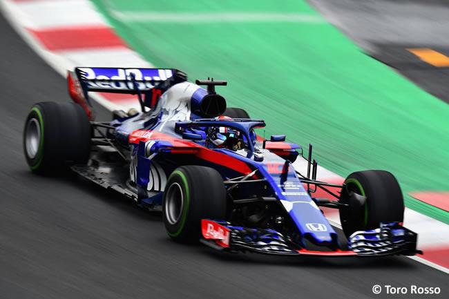 Test Barcelona 1 - Día 4 - Scuderia Toro Rosso - Honda - Pierre Gasly