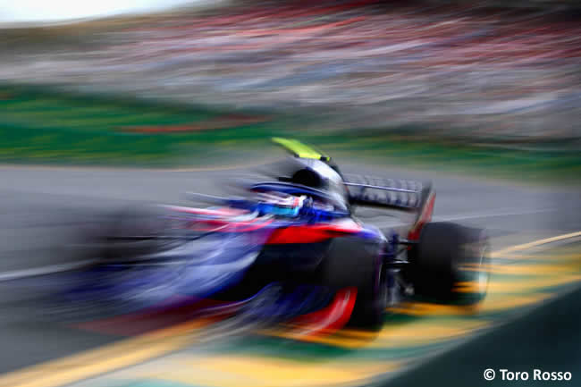 Toro Rosso - Gran Premio de Australia 2018