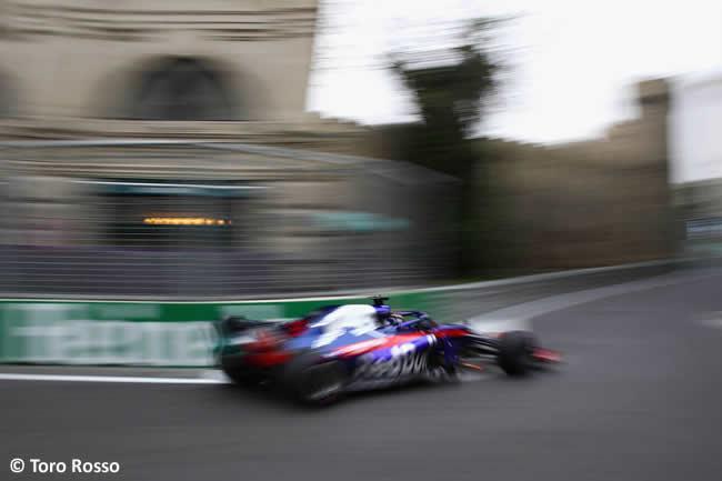 Brendon Hartley - Toro Rosso - Entrenamientos GP - Azerbaiyán, Bakú 2018