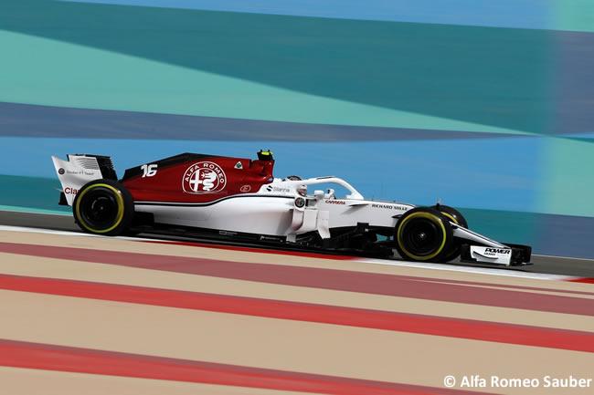 Charles Leclerc - Alfa Romeo Sauber - GP Bahréin - Viernes - 2018