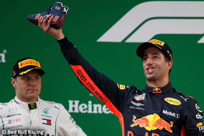 Daniel Ricciardo - Red Bull Racing - GP China 2018 - Victoria - Domingo - Podio