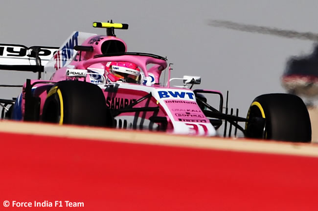 Esteban Ocon - Force India - GP Bahréin - Sábado - 2018