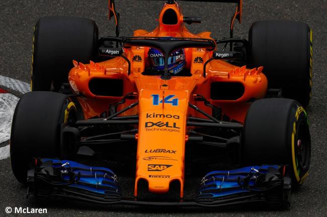 Fernando Alonso - McLaren - GP China 2018 - Carrera - Domingo -