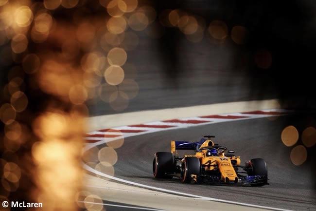 Fernando Alonso - McLaren - GP Bahréin - Carrera - 2018