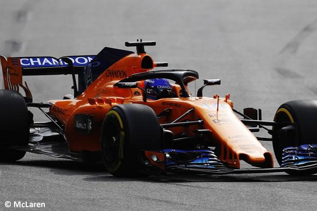 Fernando Alonso - McLaren - Carrera - GP - Azerbaiyán, Bakú 2018