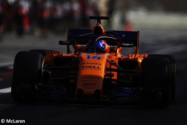 Fernando Alonso - McLaren - GP Bahréin - Sábado - 2018