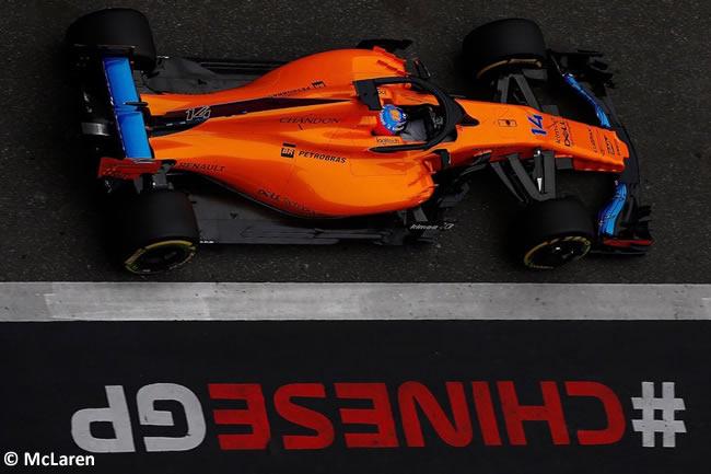 Fernando Alonso - McLaren- GP China 2018 - Viernes