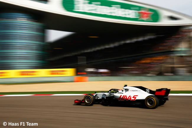 Kevin Magnussen - Haas - GP China 2018 - Carrera - Domingo -