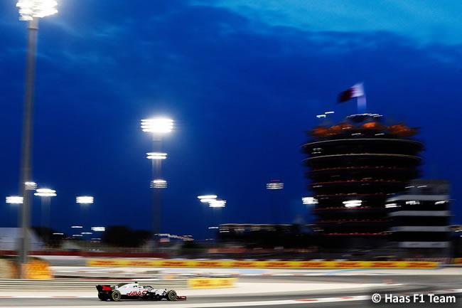 Kevin Magnussen - Haas- GP Bahréin - Viernes - 2018