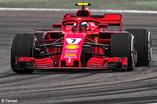 Kimi Raikkonen - Scuderia Ferrari - GP China 2018 - Carrera - Domingo -